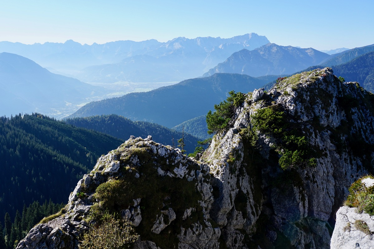 Ettaler Mandl Klettersteig : Klein aber gefährlich klettersteig am ettaler mandl u lttw